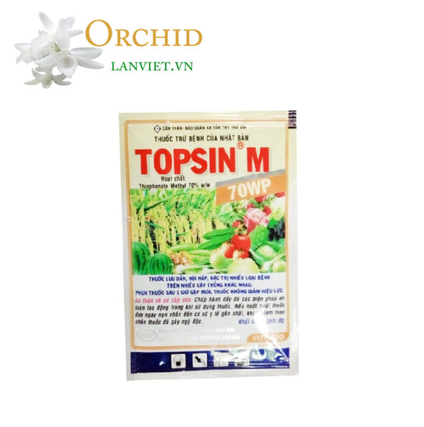 Thuốc chuyên trị vàng lá thán thư Topsin