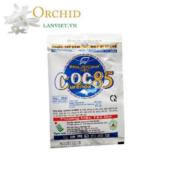 Thuốc trị nấm bệnh thán thư đốm lá Coc85