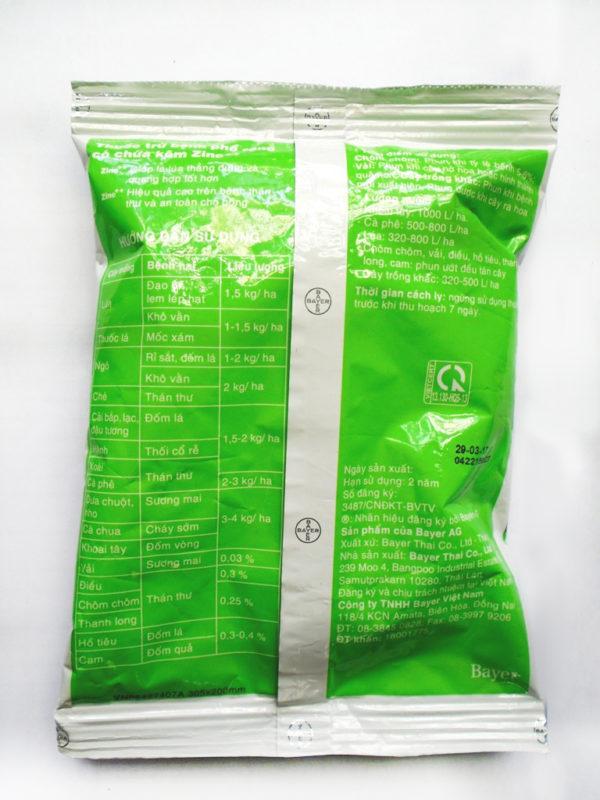 Thuốc trừ bệnh thối rễ dưỡng lá Antracol