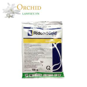 Thuốc trừ nấm bệnh trên lan Ridomil Gold